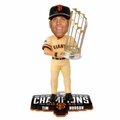 Tim Hudson (San Francisco Giants) 2014 World Series Champs Trophy Bobble Head Forever