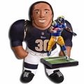 "Todd Gurley (Los Angeles Rams) 24"" NFL Plush Studds by Forever Collectibles and EA Sports Madden NFL 17 Ultimate Team Series 1 McFarlane Combo"