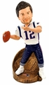 Tom Brady MVP (New England Patriots) Super Bowl XLIX Champ NFL Bobble Head Forever Collectibles