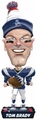 Tom Brady (New England Patriots) 2017 NFL Caricature Bobble Head by Forever Collectibles