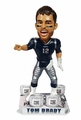 Tom Brady (New England Patriots) 4X Championship Ring Base Exclusive Bobble Head by Forever Collectibles
