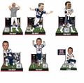 Tom Brady (New England Patriots) 5X Super Bowl Champ Bobblehead Complete Set (6)