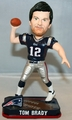 Tom Brady (New England Patriots) Forever Collectibles 2014 NFL Springy Logo Base Bobblehead