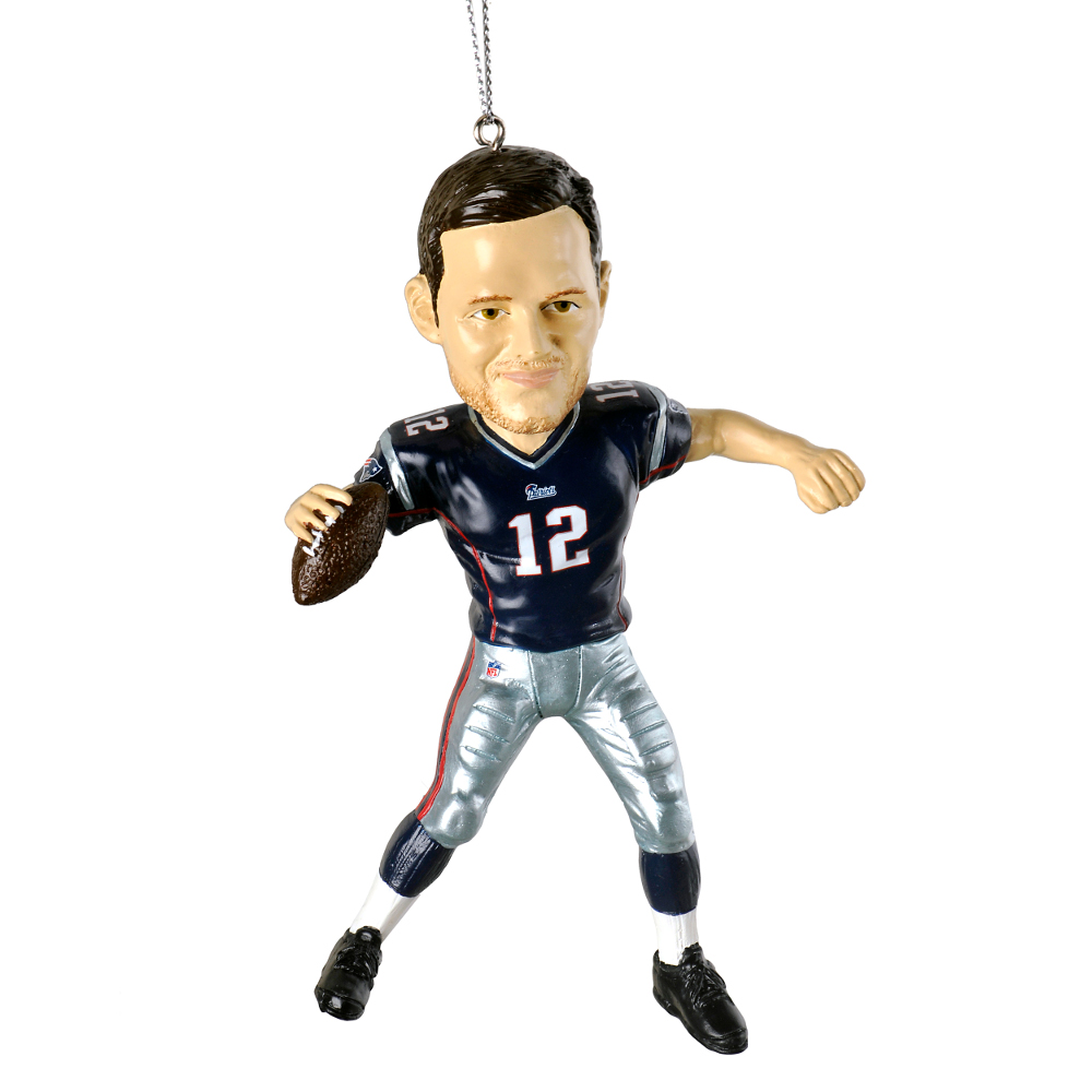New England Patriots Duck Ornament