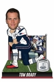 Tom Brady (New England Patriots) Fourth Super Bowl Win Bobblehead by Forever Collectibles