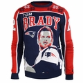 Tom Brady #12 (New England Patriots) NFL 2015 Player Ugly Sweater