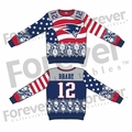 Tom Brady (New England Patriots) NFL Ugly Player Sweater