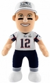"Tom Brady SUPER BOWL XLIX CHAMPS (New England Patriots) 10"" Player Plush Bleacher Creatures"