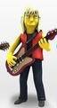 "Tom Hamilton (Aerosmith) The Simpsons 25th Anniversary 5"" Action Figure Series 4 NECA"