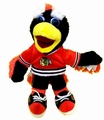 "Tommy Hawk Chicago Blackhawks NHL 8"" Plush Team Mascot"