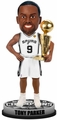 Tony Parker (San Antonio Spurs) 2014 NBA Champ Trophy Bobble Head