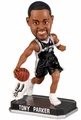 Tony Parker (San Antonio Spurs) Forever Collectibles 2014 NBA Springy Logo Base Bobblehead