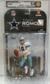Tony Romo (Dallas Cowboys) NFL Series 17 McFarlane AFA Graded 9.0