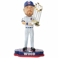 Travis Wood (Chicago Cubs) 2016 World Series Champions Bobble Head by Forever Collectibles