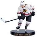 "Trevor van Riemsdyk (Chicago Blackhawks) Imports Dragon NHL 2.5"" Figure Series 2"