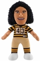 "Troy Polamalu Alternate Uniform (Striped) (Pittsburgh Steelers) 10"" Player Plush Bleacher Creatures"