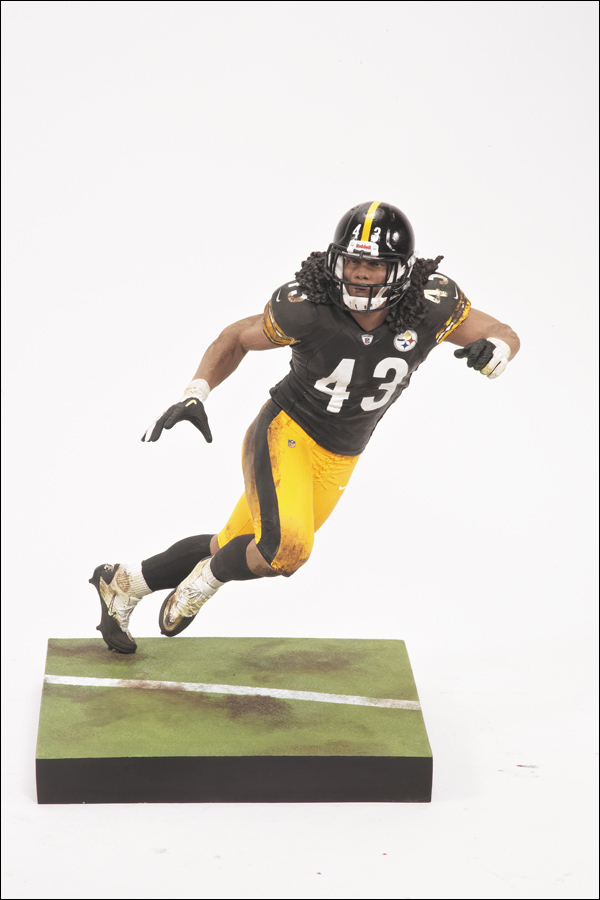 Troy Polamalu Pittsburgh Steelers Nfl 29 Mcfarlane