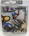 Victor Cruz (New York Giants) NFL Series 31 McFarlane AFA GRADED U9.0