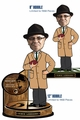 Vince Lombardi (Green Bay Packers) 2014 NFL Bobble Heads Set (2) Forever #/1968