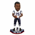 Vince Wilfork (New England Patriots) Super Bowl XLIX Champ NFL Bobble Head Forever Collectibles