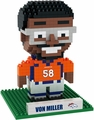 Von Miller (Denver Broncos) NFL 3D Player BRXLZ Puzzle By Forever Collectibles