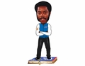 Walt Frazier (New York Knicks) NBA 50 Greatest Players Bobble Head Forever