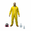 "Walter White Breaking Bad 6"" Yellow Hazmat Suit Mezco"