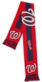 Washington Nationals MLB Big Logo Scarf By Forever Collectibles