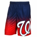 Washington Nationals MLB 2016 Gradient Polyester Shorts By Forever Collectibles