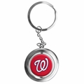 Washington Nationals MLB Spinner Keychain