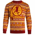 Washington Redskins NFL 2016 Aztec Ugly Crew Neck Sweaters by Forever Collectibles