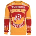 Washington Redskins Retro Cotton Sweater by Klew