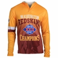 Washington Redskins Super Bowl XXII Champions Poly Hoody Tee