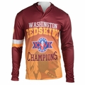 Washington Redskins Super Bowl XXVI Champions Poly Hoody Tee