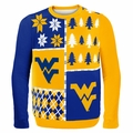 West Virginia Ugly College Sweater BusyBlock