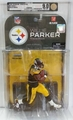 Willie Parker (Pittsburgh Steelers) NFL Series 17 McFarlane AFA Graded 9.0