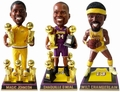 Wilt/Magic/Shaq (Los Angeles Lakers) Set (3) NBA Legends Bobble Heads Exclusives #/500 Forever