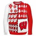 Wisconsin Ugly College Sweater BusyBlock
