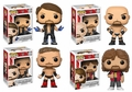 WWE Complete Set (4) Funko Pop! Series 3