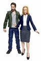 X Files Complete Set (2) By Diamond Select Toys