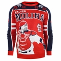 Yadier Molina #4 (St. Louis Cardinals) MLB 2015 Player Ugly Sweater