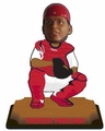"Yadier Molina (St. Louis Cardinals) 2015 MLB Real Jersey 10"" Bobble Heads Forever Collectibles"