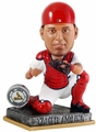 Yadier Molina (St. Louis Cardinals) 2015 Springy Logo Action Bobble Head Forever Collectibles