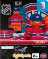 Youppi! Mascot (Montreal Canadiens): Gen1 NHL OYO Minifigure