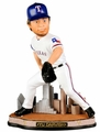"Yu Darvish (Texas Rangers) Forever Collectibles MLB City Collection 10"" Bobblehead"