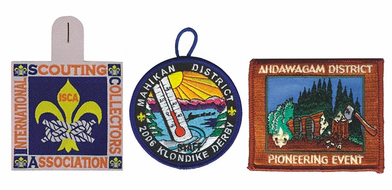 Boyscout Patches