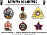 brewery ornaments