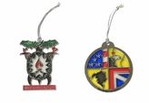 Custom Stained Glass Ornaments