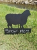 Chalkboard Sheep with Block