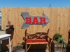 Large Corrugated Metal Arrow with BAR